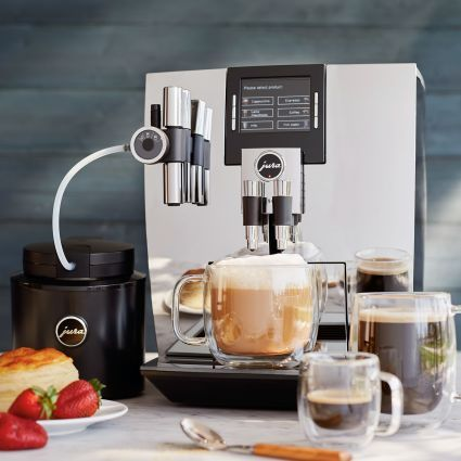 Jura J90 Automatic Coffee Center, Chrome | Sur La Table