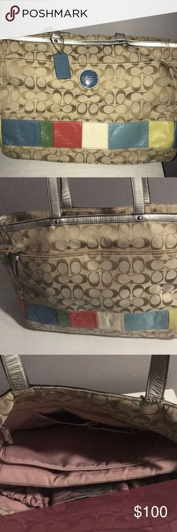Coach diaper bag Diaper bag is 6 years old, used for roughly 6 months Coach Bags Baby Bags