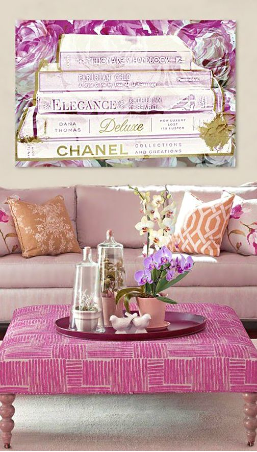 Shades Of Lavender ● Living room