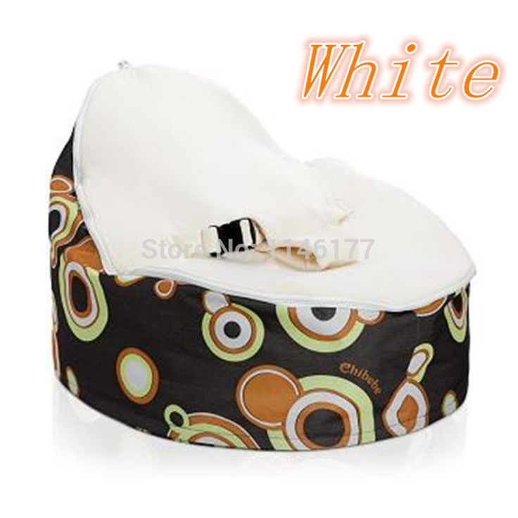 ==> [Free Shipping] Buy Best Ywxuege White Blue 2 Layer New Baby Beanbags Cover Portable Safe Baby Chair Sofa Detachable Babay Seat Online with LOWEST Price | 1871265600
