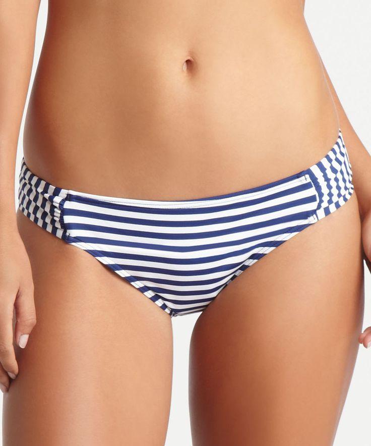 Love this Navy Stripe Hipster Bikini Bottoms by BCBGeneration on #zulily! #zulilyfinds