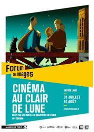Le forum des images présente la 14ème édition de « Cinéma au Clair de lune » à partir du 31 juillet prochain ! #festival #cinemaauclairdelune