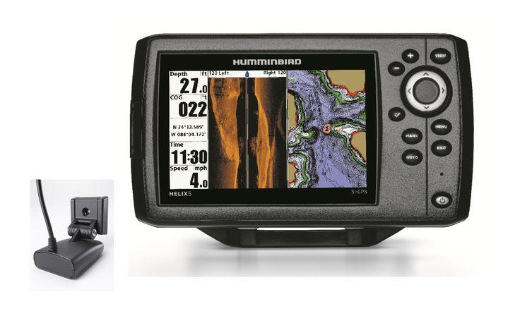HUMMINBIRD Combiné GPS Sondeur Helix 5 SI sonde TA