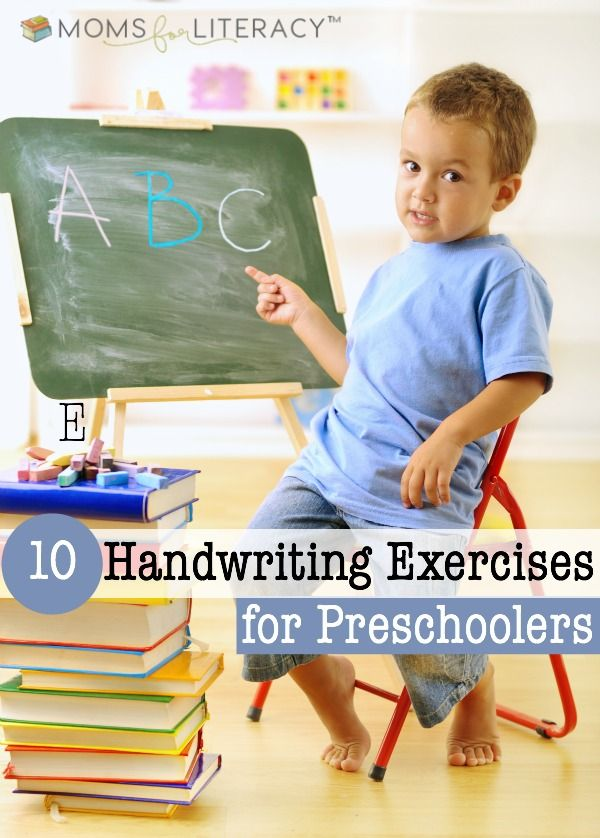 Are you looking for some creative handwriting exercises for preschoolers? If so, come check out these ten tips! :: momsforliteracy.com