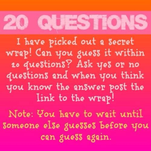 Jamberry 20 questions game