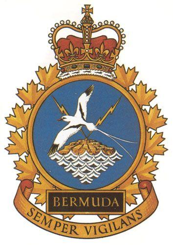 HMCS BERMUDA Badge - The Canadian Navy - ReadyAyeReady.com