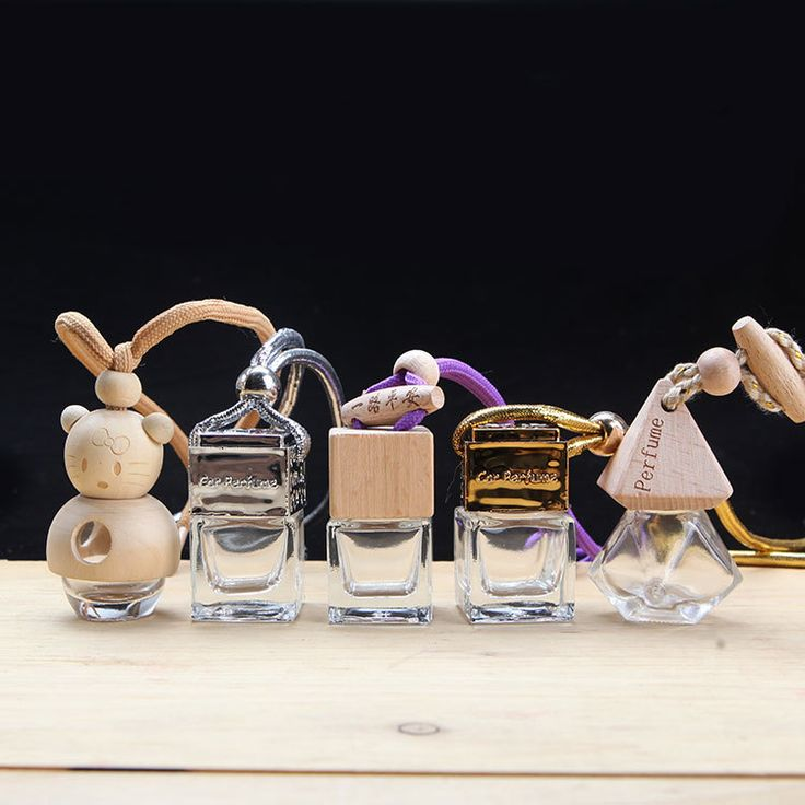 A variety of optional Empty bottles Car perfume pendant Car ornaments Automotive interior Articles