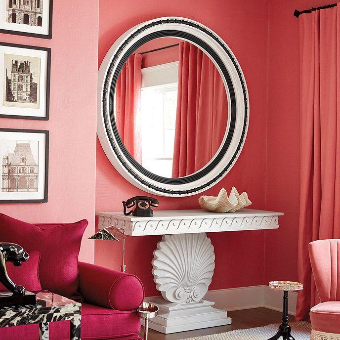 Miles Redd Golightly Mirror | Entrance halls, Mantels and Hall