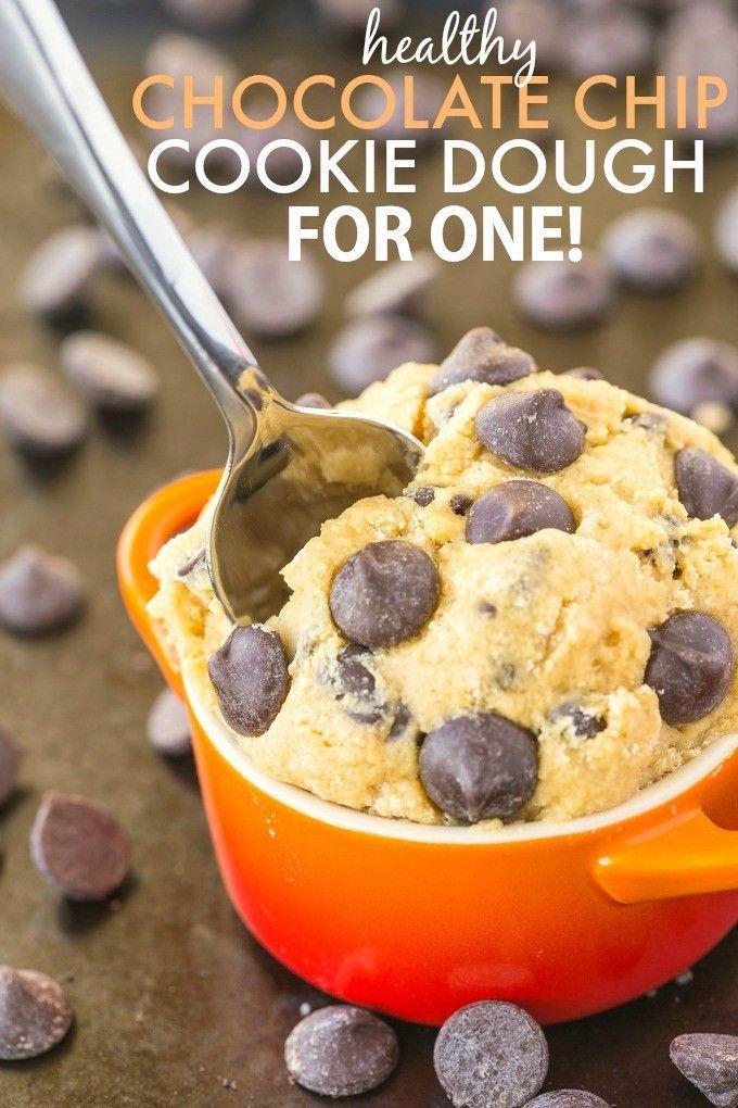 Cookie Dough for One- Omdat ik uit de Ben & Jerry's toch alleen maar het koekjesdeeg vis..