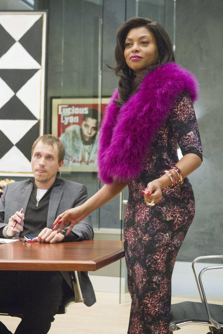 """""""Empire"""" Costume Designer Rita McGhee Explains Cookie's Fur and Lucious's Scarves -Cosmopolitan.com"""