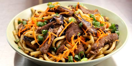 Korean Beef Udon Noodles Recipes | Food Network Canada