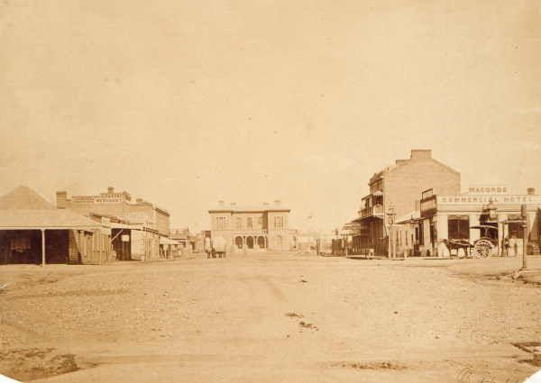 View of Bendigo. 1861