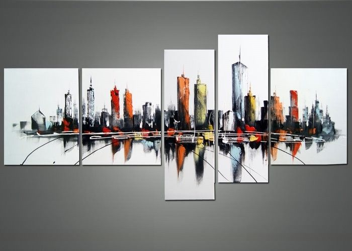 Brand New Modern USA Cityscape Artwork! Grab it from http://fabuart.com/art-painting-s/architectures-usa-canada