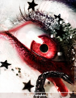 Amazing: Zodiac Signs, Color, Makeup, Beautiful Women, Dragon, Big Eye, Photo, Red Eye, Scorpio Eye