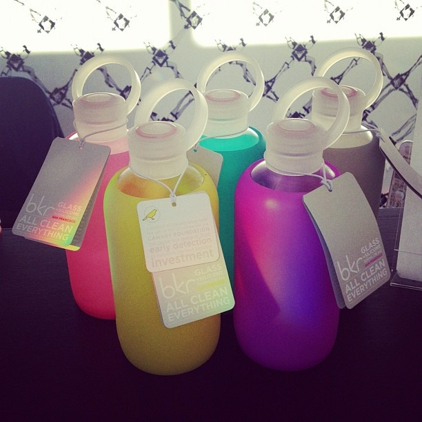 bkr bottle.....I want one in a pastel color! Obsessed!