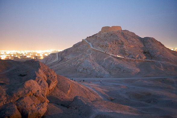 Zoroastrian Towers of Silence – Yazd, Iran - Atlas Obscura