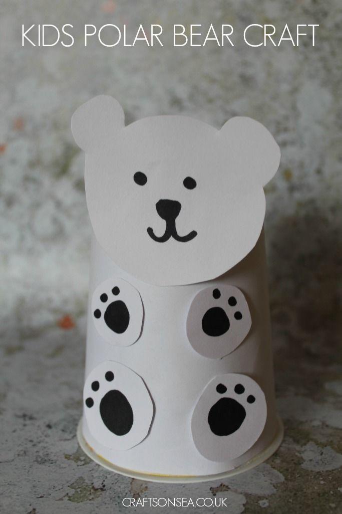 Free Polar Bear Crafts For Preschoolers