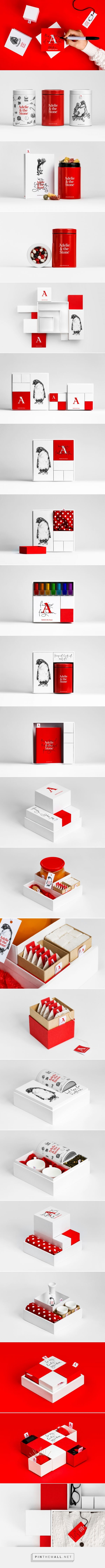 Adelie & the Stone - Packaging of the World - Creative Package Design Gallery - http://www.packagingoftheworld.com/2016/11/adelie-stone.html