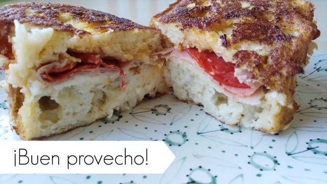 #montaditos #calientes #pan #bread #milk #leche #eggs #huevos #cheese #queso  #receipe #receta en mi #blog
