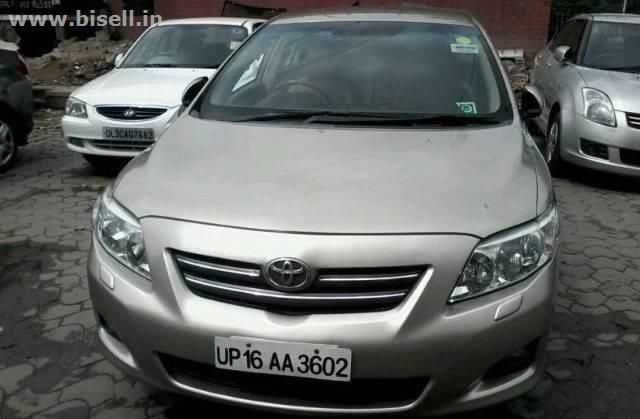Used Toyota Corolla Altis G 2010 1st Owner working perfectly