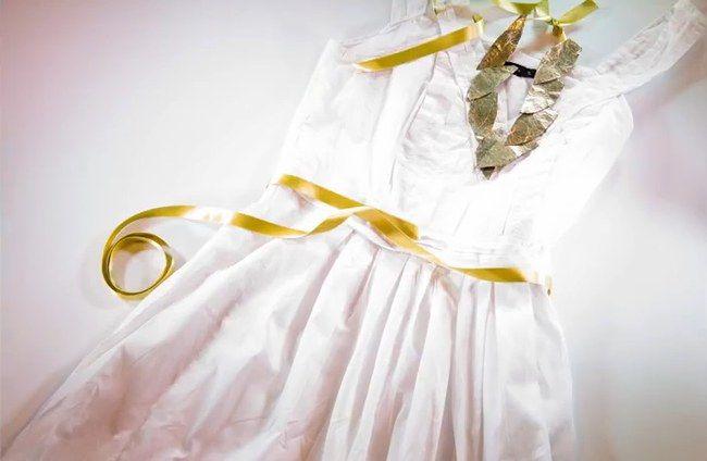 Carnaval DIY: crea tu disfraz de diosa griega. rápido y económico