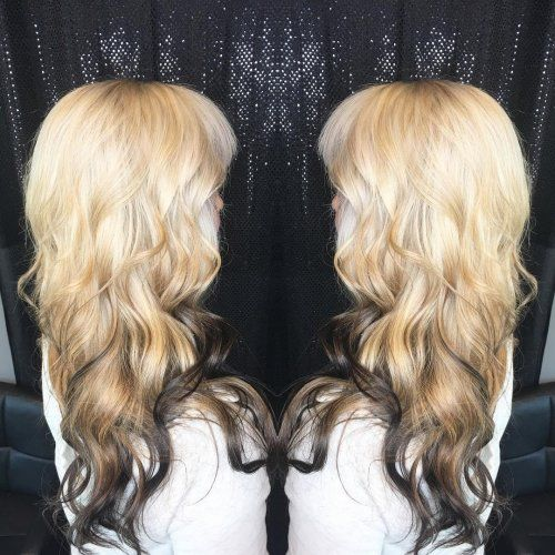 48 Looks with Reverse Ombre Hair Color 2018