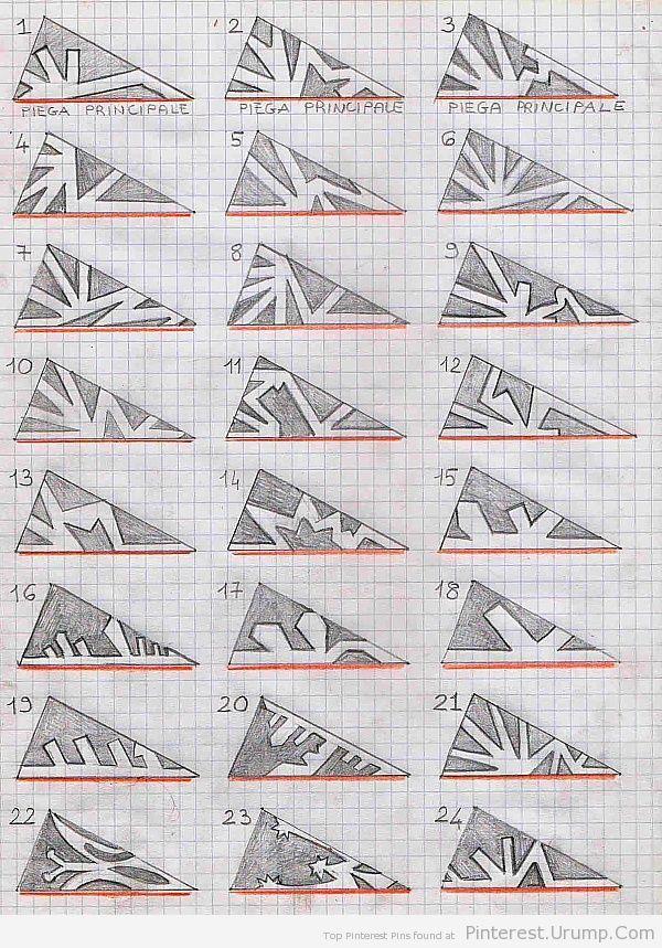DIY- Models for paper snowflakes