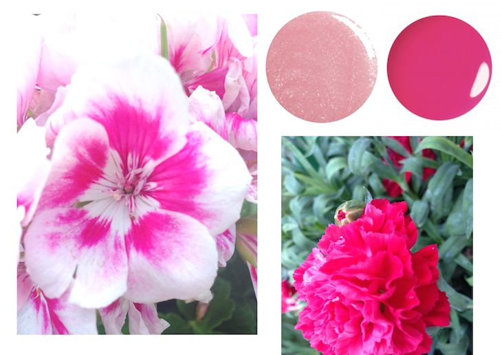 #flowers #flamingo #pink #romantic #nature #spring #inspiration #colors #nailpolish @Julep #beautyblog #fashionblog