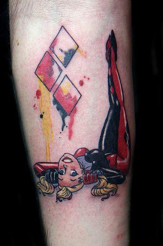 Harley Quinn tattoo | Flickr - Photo Sharing!