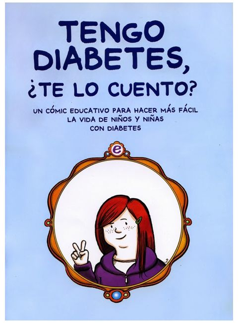 A comic book I wrote and drew for young readers about diabetes (2014).