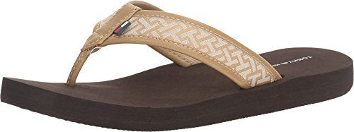 e7ff572a87240 Tommy Hilfiger Womens Ceslyn 2 Hit the beach in style with the Tommy  Hilfiger® Ceslyn 2 flip flop.