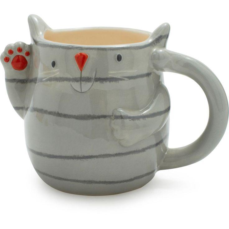 Cute cat mug, Jen this is SO your coffee mug :)