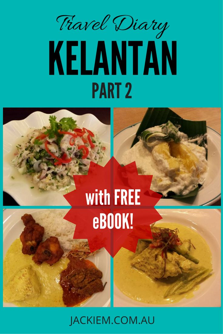 FREE eBOOK with Recipes for Pindang Tapai, Ikan Masak Lemak Belimbing Buluh, Lawar Ikan Merah. Download now at jackiem.com.au!