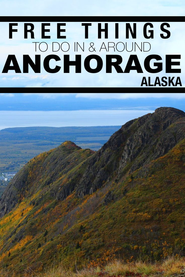 Check out these free things to do in and around Anchorage, Alaska!