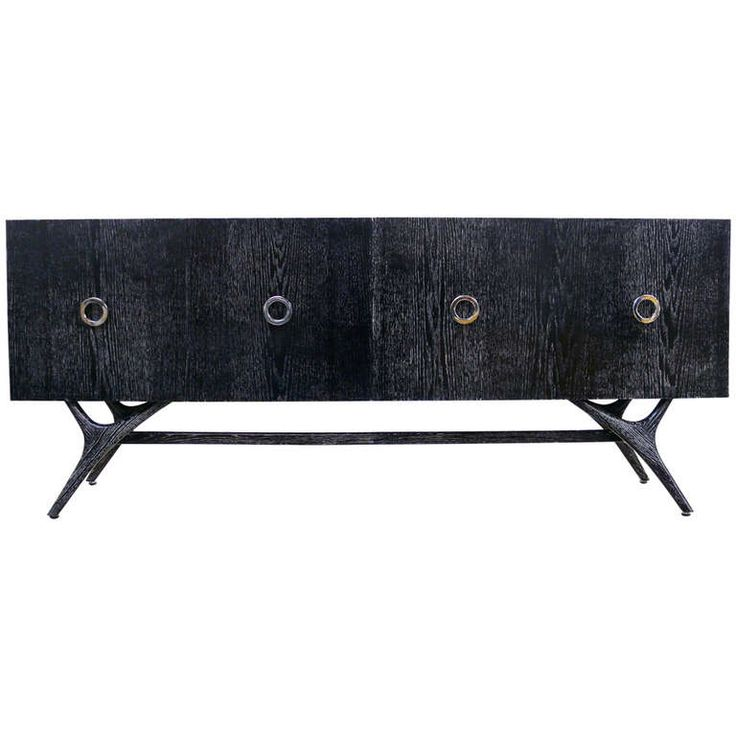 cadenza furniture. finn leg grey cerused credenza cadenza furniture e