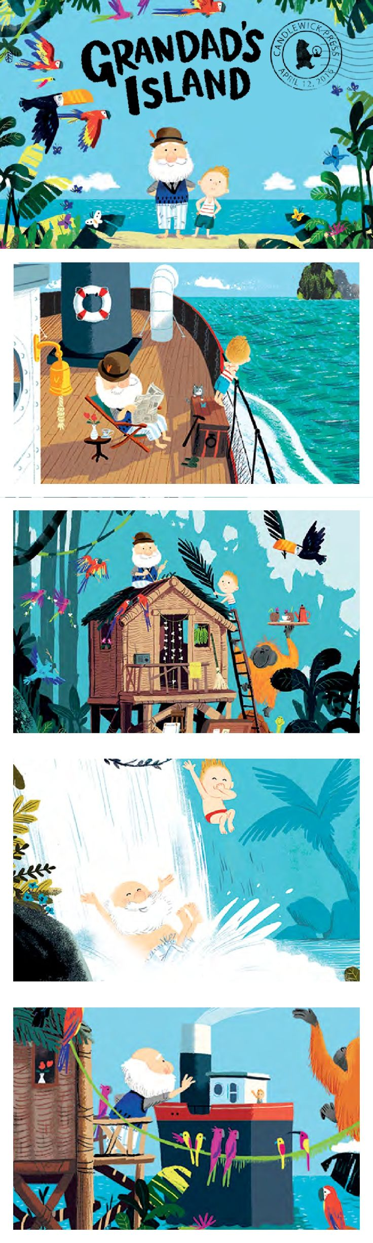 Grandad's Island by Benji Davies Press Kit