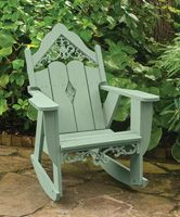 Victorian Settee Rocker | Charleston Gardens® - Home and Garden Collection Classic outdoor and garden furnishings, urns & planters and garden-related gifts