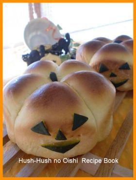 「ハロウィンのかぼちゃあんぱん」Hush−san | お菓子・パンのレシピや作り方【corecle*コレクル】
