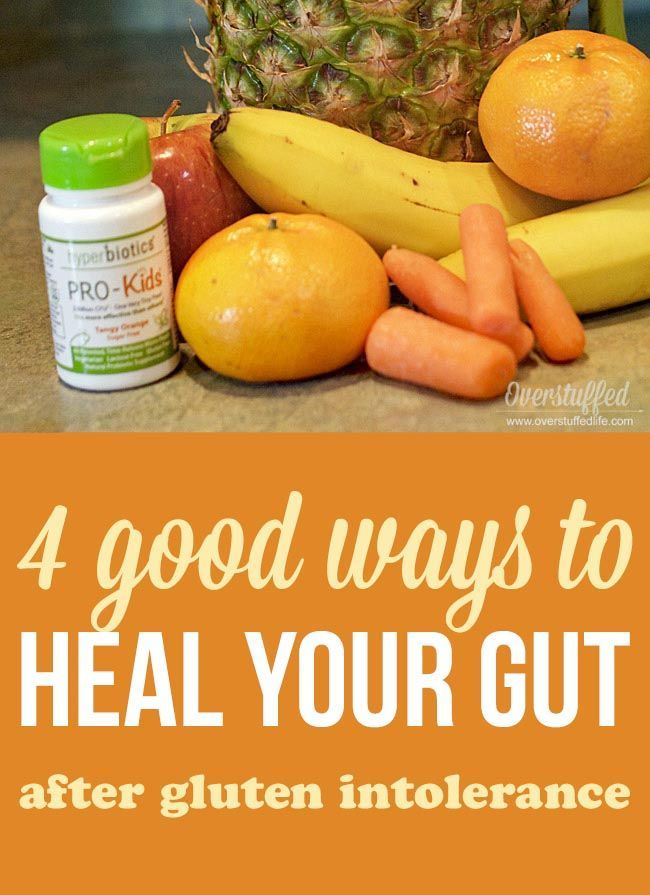 How to Heal Your Gut After a Celiac or Gluten-Intolerant ...