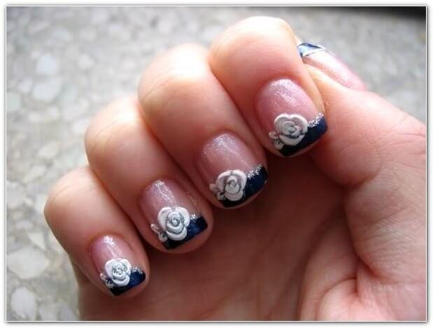 Nail Art Design for Short Nails 351