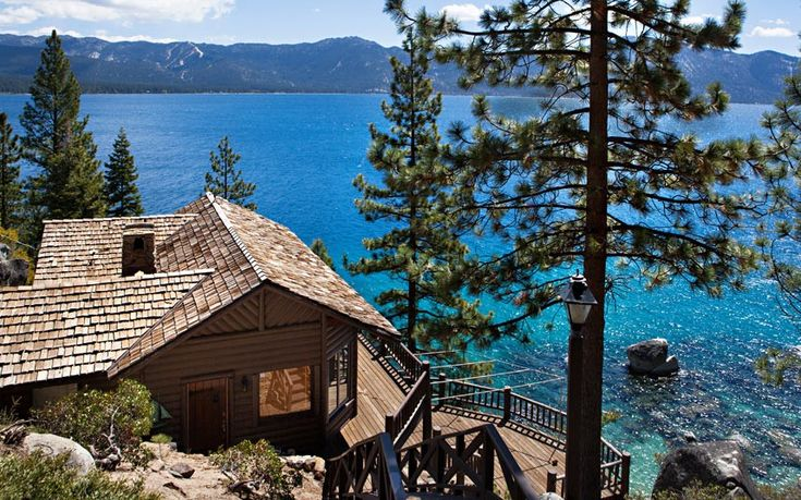 Log Cabin Style Property On Lake Tahoe Nevada Picture Eric Jarvis