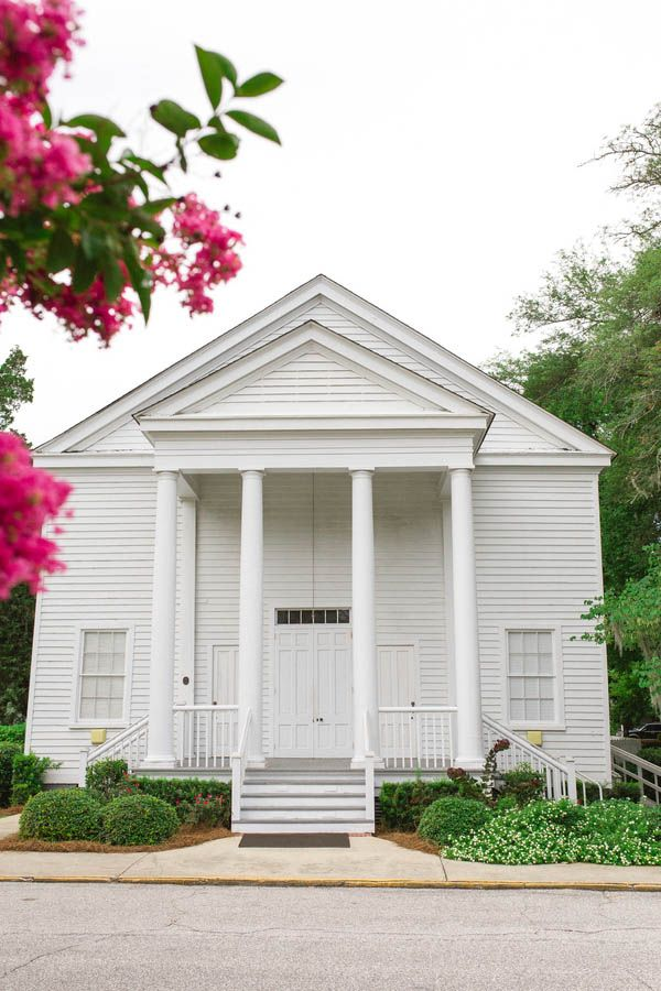 Quaint Southern church