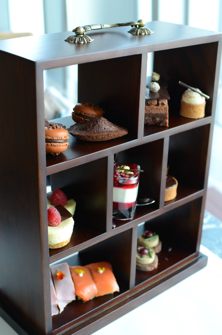 Afternoon Tea @ Chocolate Library The Ritz-Carlton Hong Kong