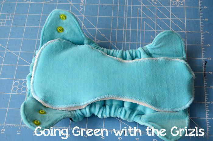 GOOD HYBRID TUTORIAL. Make Your Own Cloth Diapers! - Homespun Aesthetic