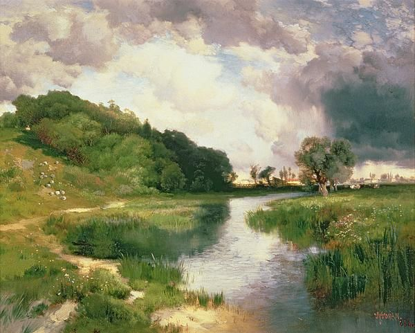 The Approaching Storm by Thomas Moran