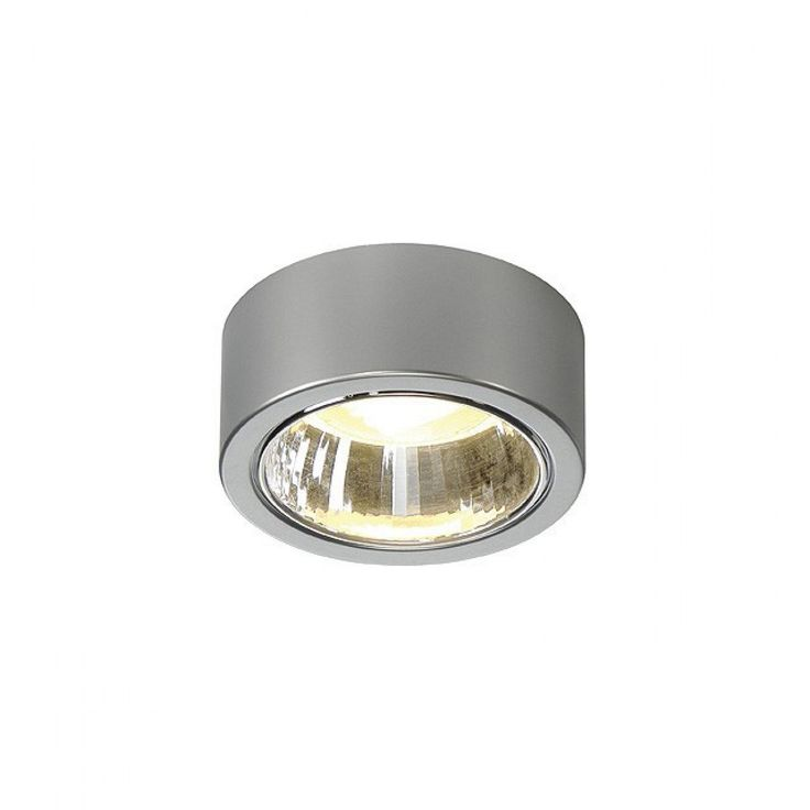 Inbouw en Opbouw Spots - Opbouwspot, CL 101 GX53, rond, zilver, max. 11W