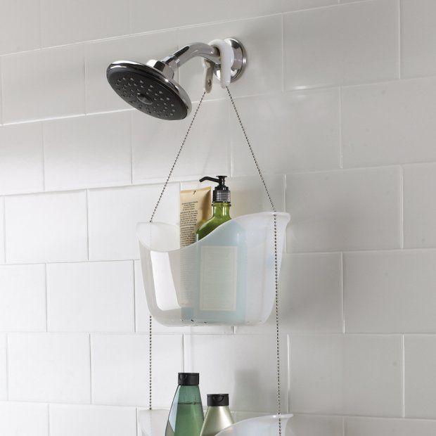 Sposób na kosmetyki w kabinie prysznicowej