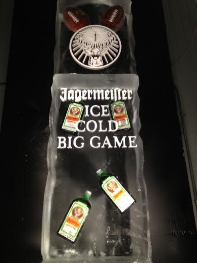 #Superbowl #2014 #Jagermeister #Football #Game #Sport #Event #Party #Charity #Friends #House #Ultimate #Awesome #Huge #Big #Ice #Sculpture #Luge #Trophy #Alcohol #Drink #Shots #Cocktail #TV #Big #Screen #AppleIce #AppleIceInc www.AppleIce.com