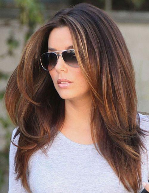 15 moderne Frisuren für Frauen über 40 – lange Frisuren 2015