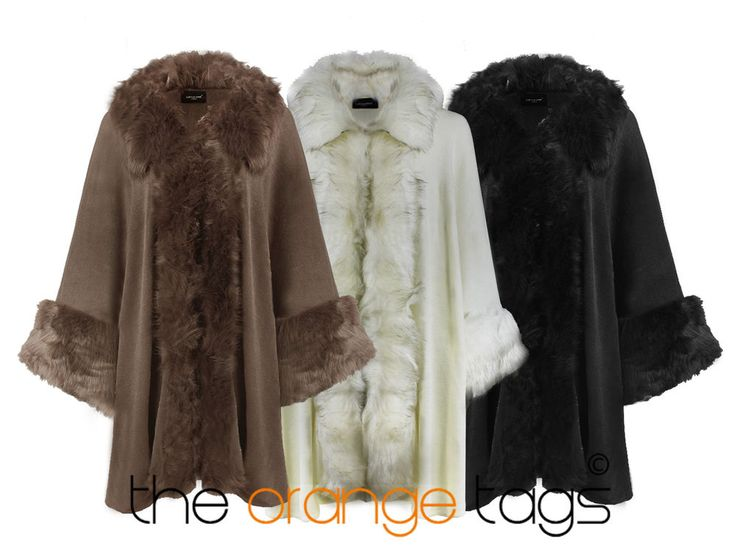 ThisSoft and Luxurious faux fur capelet or short cape will add sophistication to any dress or can be dressed down to be worn with jeans,The capelet features .
